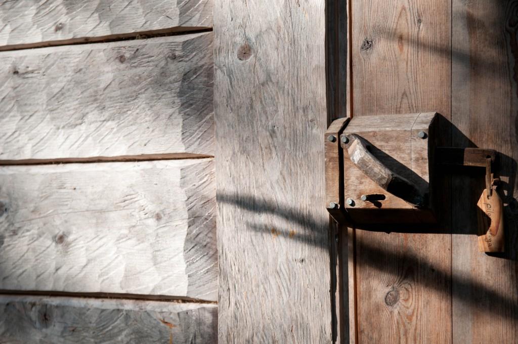 lock of the pilgrims hut