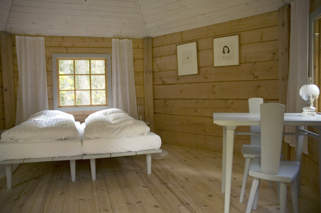interior of the hat cabin